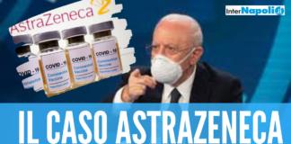 """Astrazeneca, l'Asl di Napoli sospende la vaccinazione per i lotti icriminati ma De Luca chiarisce: """"Si va avanti"""""""