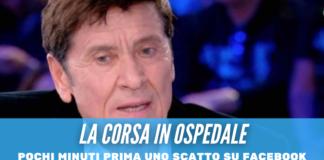 Gianni Morandi ricoverato d'urgenza, ustioni a mani e gambe per il cantante