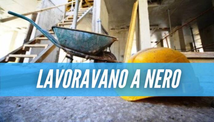 Operai rischiano di morire folgorati, sigilli ad un cantiere di Torre del Greco