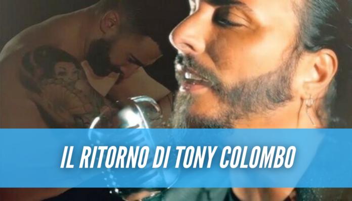 Sorpresa Tony Colombo, il nuovo singolo del neomelodico dopo l'annuncio del ritiro
