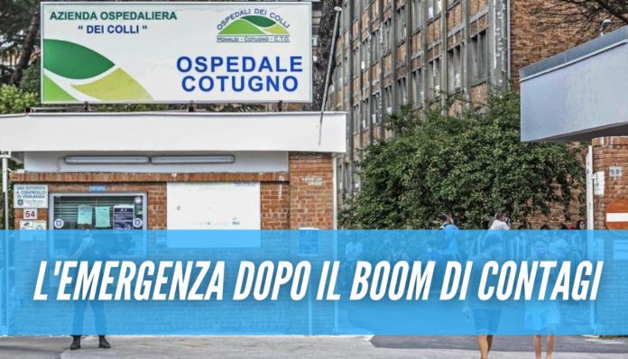 Covid a Napoli, emergenza al Cotugno: un solo posto libero in terapia intensiva