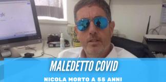 L'Agro Aversano in lacrime per Nicola, l'imprenditore ucciso dal Covid