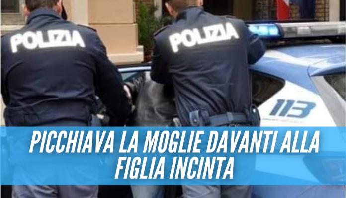Chiama da Milano e fa arrestare il padre a Napoli, picchiava la madre davanti ai fratellini piccoli