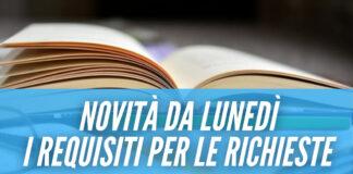 Borse di studio per tutti gli studenti in Campania, contributi da 250 euro