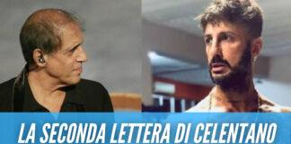 """Fabrizio Corona in carcere, la lettere di Adriano Celentano: """"Se muori ora non frega a nessuno"""""""