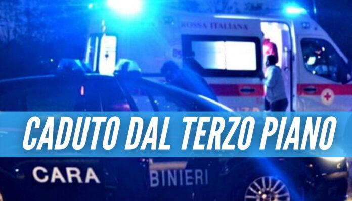 Caserta piange Giuseppe, il 29enne morto dopo una caduta dal balcone