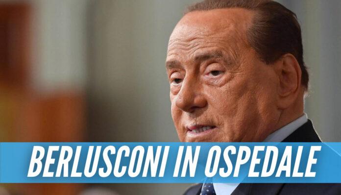 Silvio Berlusconi in ospedale, l'ex premier ricoverato da lunedì