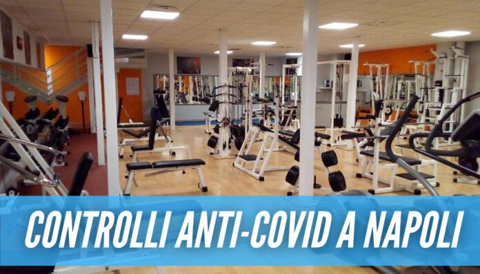 Palestra aperta in segreto a Napoli, scatta la chiusura: clienti scoperti mentre si allenavano