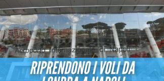 Covid a Napoli, dopo 2 mesi riprendono i voli da Londra a Capodichino