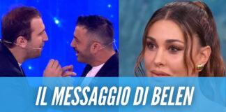 """Pio e Amedeo, il chiarimento dopo la battuta a Stefano De Martino: """"Belen ci ha contattato"""""""
