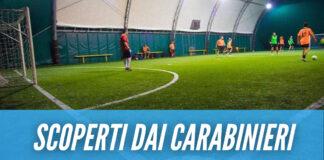 Partita di calcetto in provincia di Napoli, 12 multati tra cui 7 minorenni