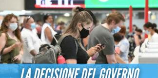 """Viaggi all'estero, il Governo: """"Quarantena obbligatoria e tampone al rientro"""""""