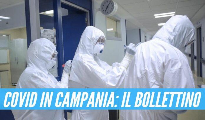 Bollettino covid in Campania