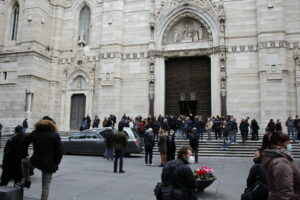 Funerali di Ornella Pinto (foto di Albangela Celentano)