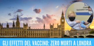 zero morti a Londra