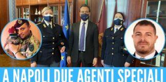 A Napoli due agenti speciali
