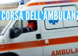 ambulanza incidente secondigliano