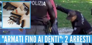 Ponticelli, due cugini 'beccati' con 3 pistole: arrestati