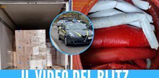 autostrada napoli roma materiale esplosivo