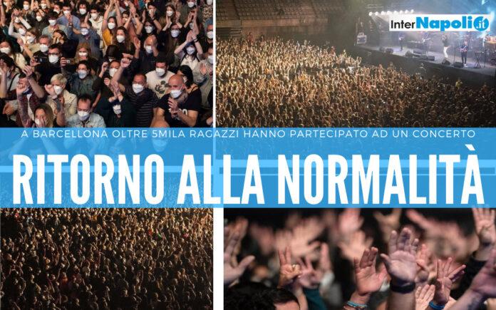 Il concerto di Barcellona
