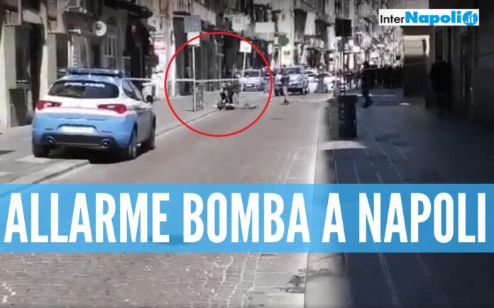 Allarme bomba a Napoli