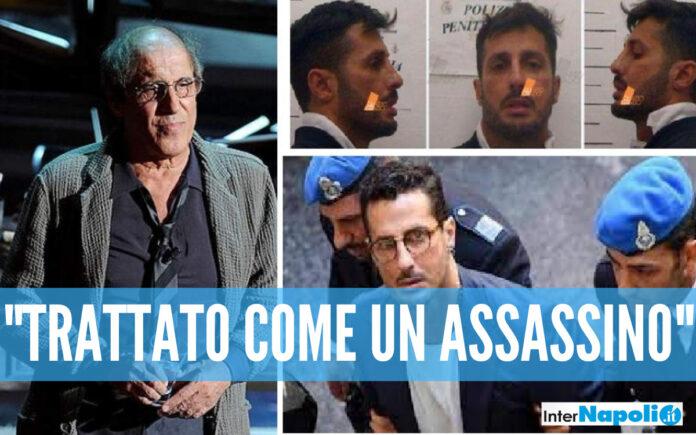 Fabrizio Corona e Adriano Celentano