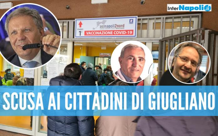 Disagi vaccini a Giugliano, l'Asl Napoli 2 chiede scusa e annuncia: