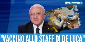 Polemica sullo staff di De Luca