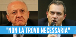 """Campania in lockdown, De Magistris attacca De Luca: """"La sua ordinanza è incomprensibile"""""""