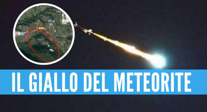 meteorite molise