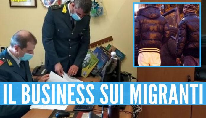 Il business sui migranti