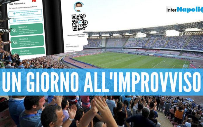 Il presidente della FIGC Gabriele Gravina studia un piano per riportare la gente allo stadio e si affida all'app Mitiga