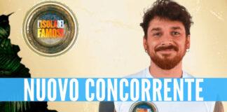 Andrea Cerioli nuovo concorrente dell'Isola dei Famosi