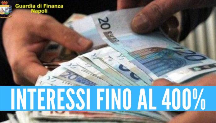 Operazione guardia di finanza: interessi fino al 400%