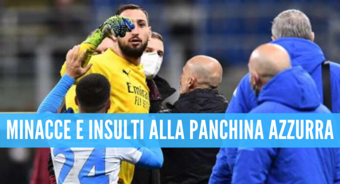 Gigio Donnarumma dopo Milan-Napoli
