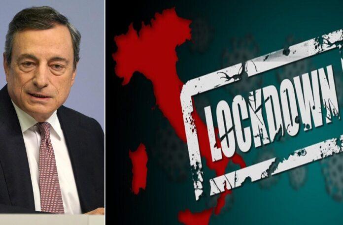 Mario Draghi annuncia lockdown