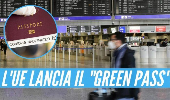 Covid, l'Ue lancia il _green pass_