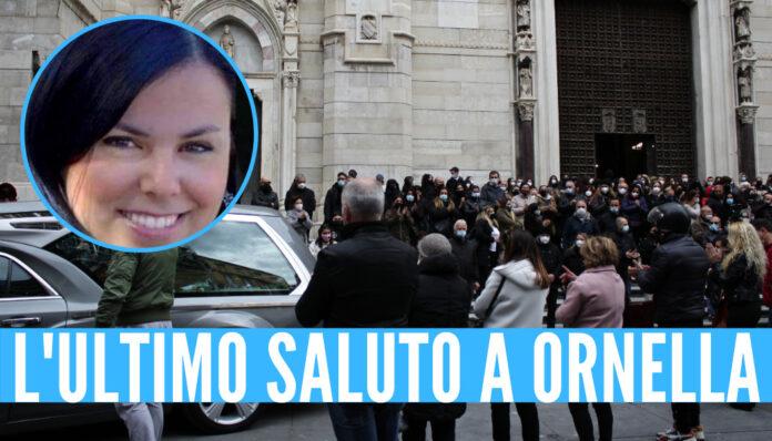 L'ultimo saluto a Ornella Pinto