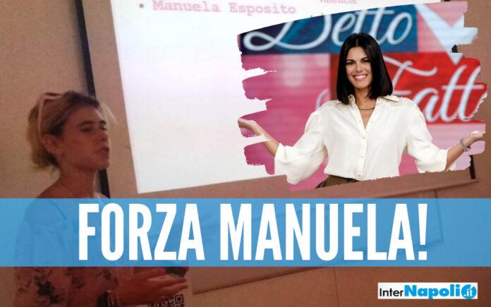 rai Marano e Giugliano fanno il tifo per Manuela Esposito, l'aspirante stilista del Marconi in finale nel contest in Rai