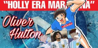 Maradona protagonista del cartone Holly e Benji