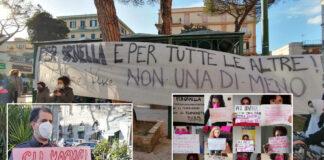 La manifestazione a Napoli