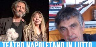 Morte Cetty Sommella, l'addio in lacrime di Vincenzo Salemme per la moglie di Nando Paone