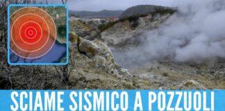 Terremoto, sciame sismico a Pozzuoli: nuova scossa nei Campi Flegrei