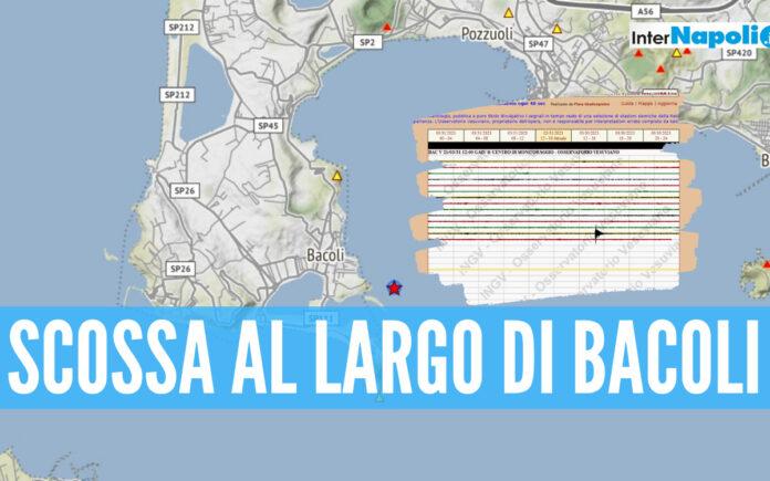 Scossa a Bacoli