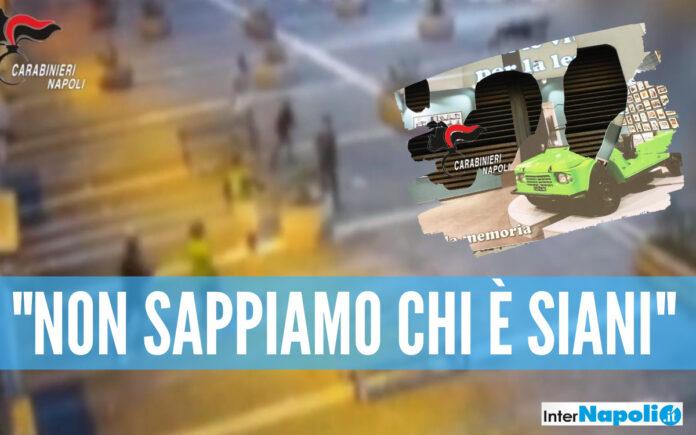 Il video dell'attacco alla fondazione Polis, danneggiato in pannello dedicato a Giancarlo Siani