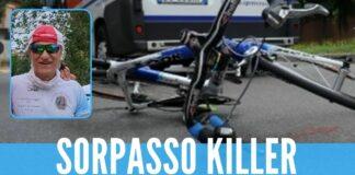 Sorpasso killer, ciclista travolto e ucciso
