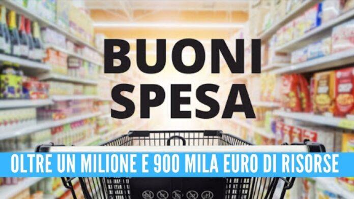 Buoni spesa a Napoli