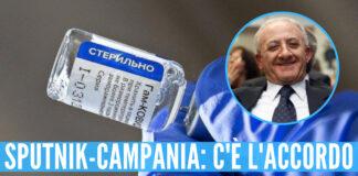 Vaccino sputnik in Campania: c'è l'accordo