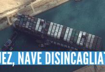 Suez, nave disincagliata