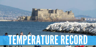 Meteo, temperature record in arrivo